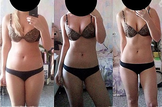 японская диета фото до и после