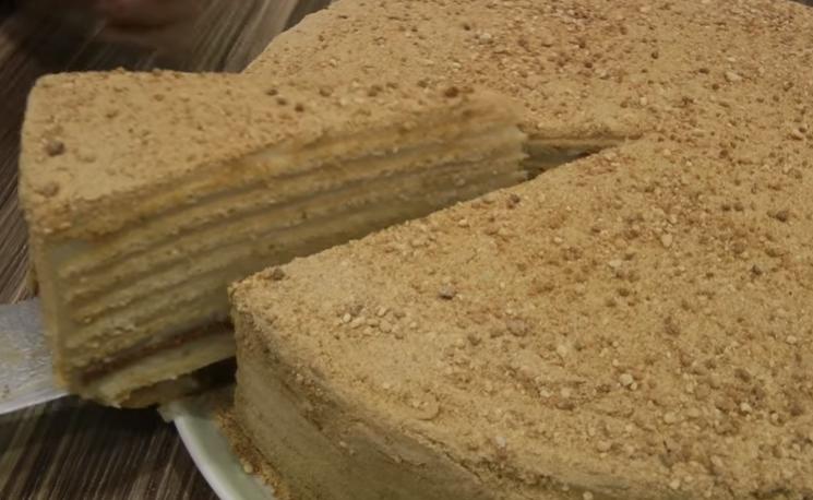 Медовый торт - простые домашние рецепты