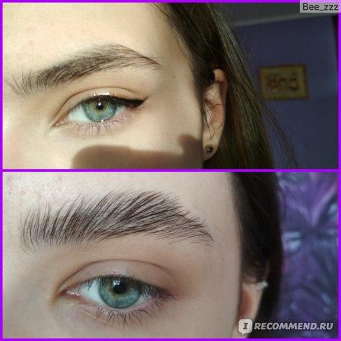 ламинирование бровей фото до и после 2