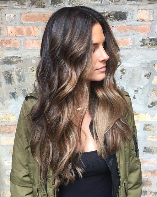 Шатуш на темные волосы - все, что нужно знать о процедуре