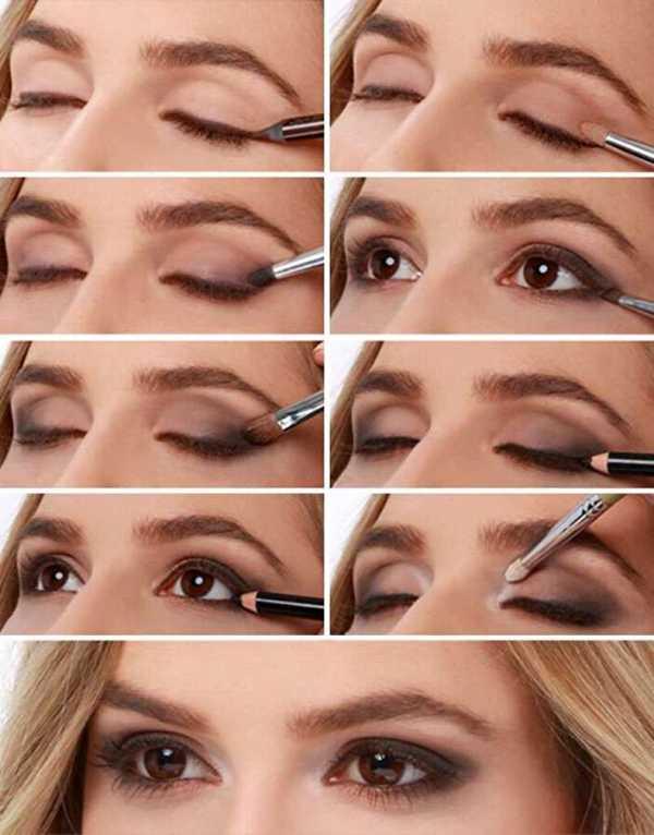 Делаем макияж для нависшего века правильно