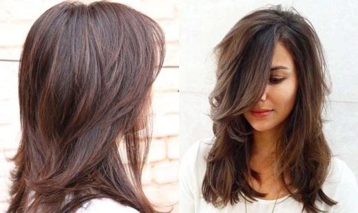 Модные женские стрижки на средние волосы 2020-2021   80+ стильных ...   310x520