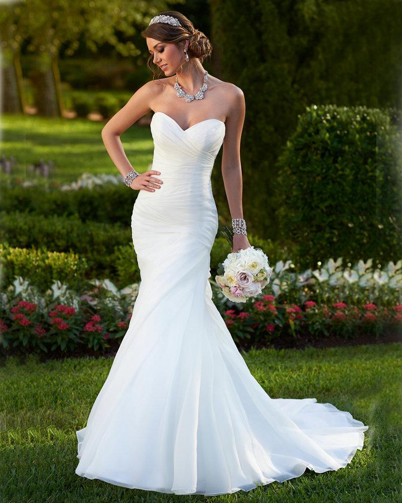картинки свадебного платья русалка проявления
