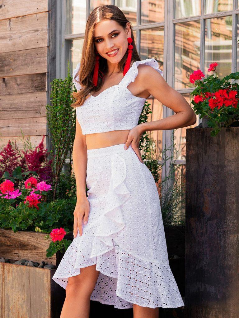Женский летний костюм, вариант 7