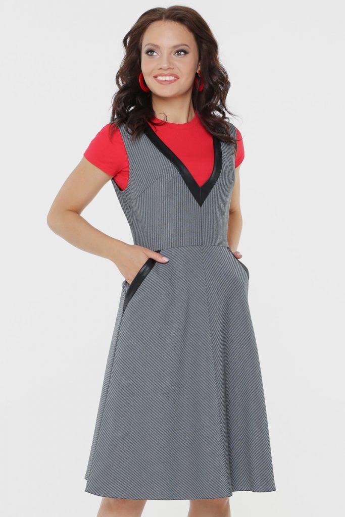 Платье-сарафан фото 9