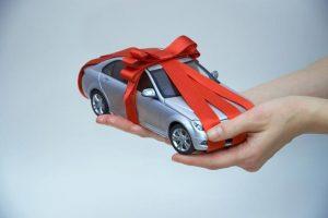Авто в качестве подарка