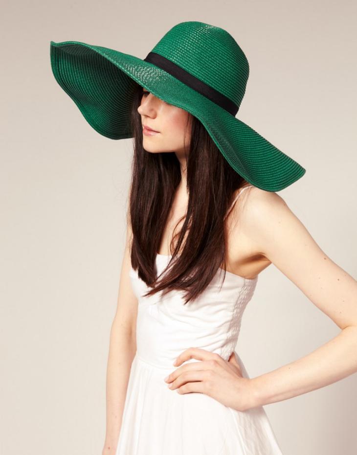 Шляпа с широкими полями фото 2