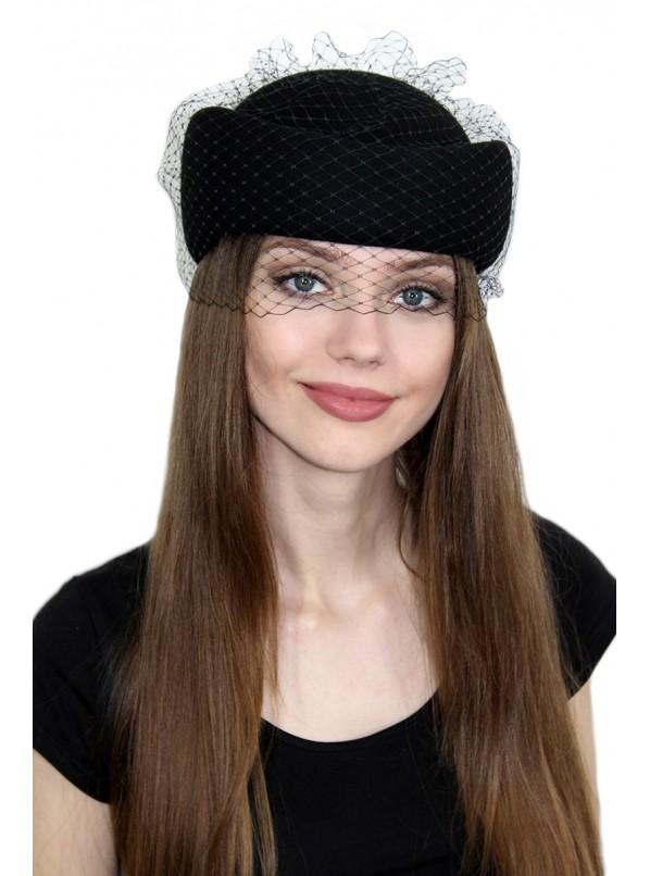 Шляпка-таблетка фото