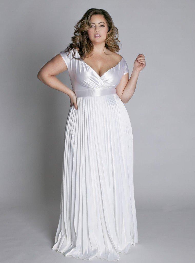 свадебные платья фото для толстушек бюро судебно-медицинской