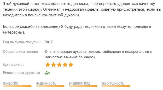 Рейтинг лучших электрических настольных духовок: описания, преимущества и недостатки, отзывы и цены